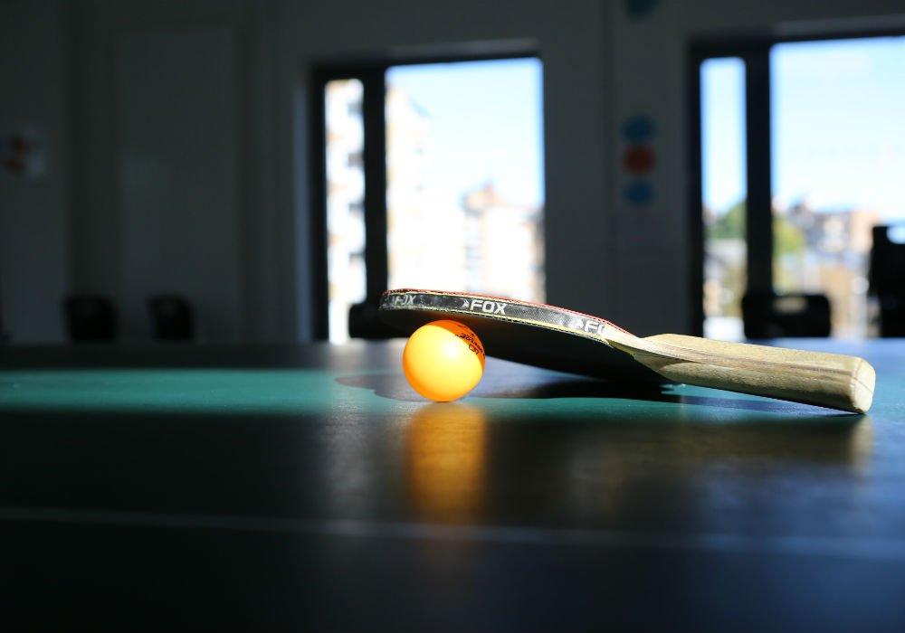 yellow qube table-tennis - 1000/700